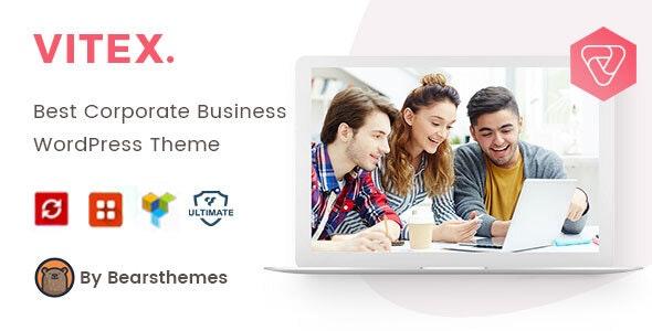 Vitex - Corporate Business WordPress Theme - Business Corporate