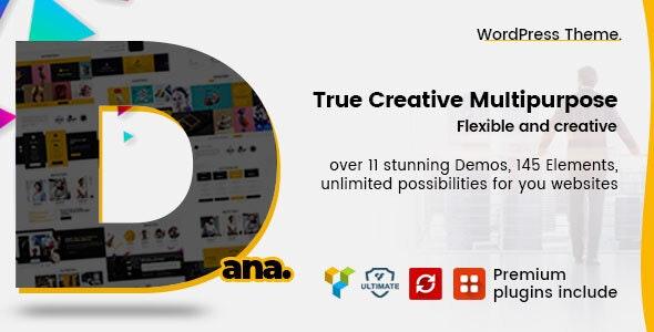 Dana - Corporate Business Multi-Purpose WordPress Themes - Business Corporate