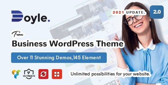 Doyle - Creative Multipurpose WordPress Theme