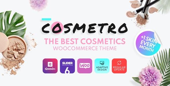 Cosmetro - Cosmetics Store Elementor WooCommerce Theme - WooCommerce eCommerce