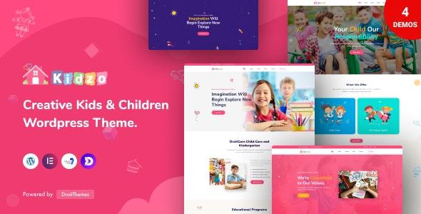Kidzo - Kids & Children WordPress theme - Children Retail