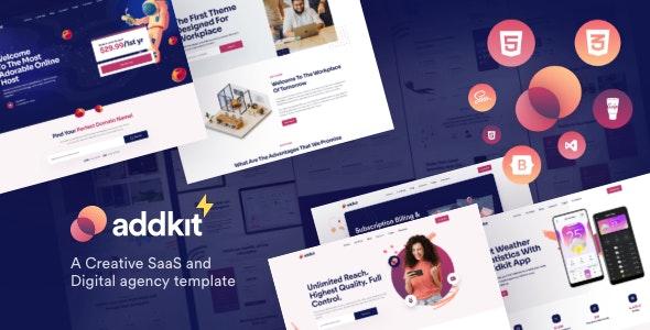 Addkit - Multipurpose Template - Software Technology
