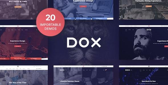 Dox — Multi-purpose WordPress Theme - Portfolio Creative