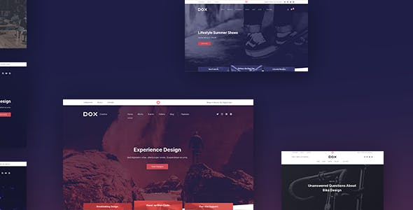 Dox — Multi-purpose WordPress Theme