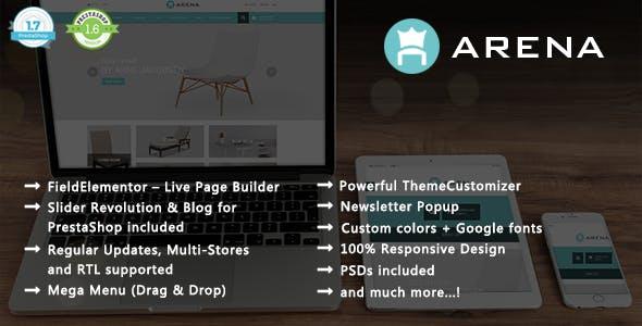 Arena - Modern Furniture PrestaShop 1.7 & 1.6 Theme