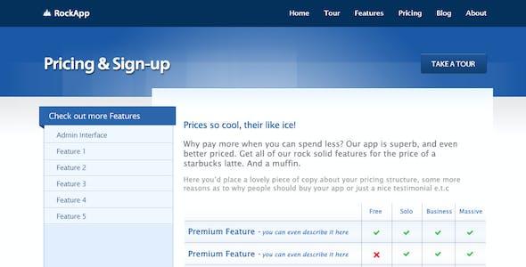 App Site Marketing / Promo