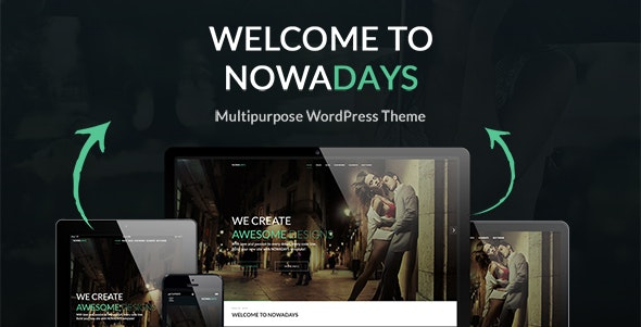 NowaDays - Multipurpose WordPress Theme - Portfolio Creative