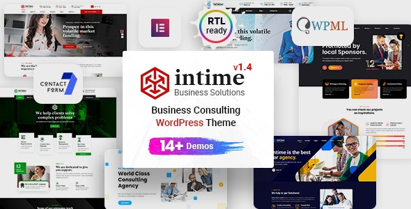Intime v1.4.1 – Business Consulting
