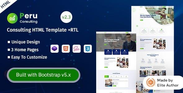 Peru - Consulting HTML Template