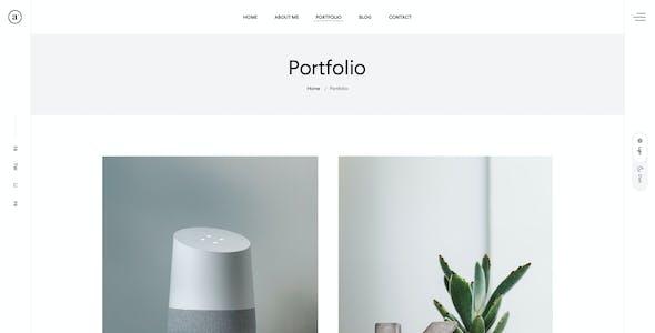 Miky - Personal portfolio PSD Template