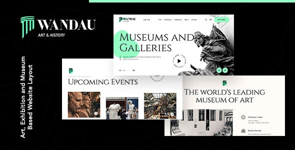 Wandau | Art & History Museum WordPress Theme - Art Creative