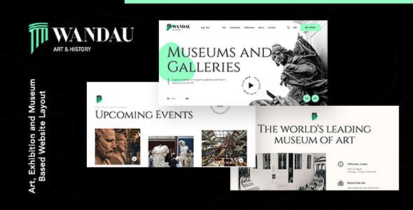 Wandau | Art & History Museum WordPress Theme
