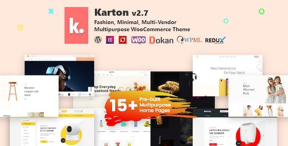 Karton | Multipurpose WooCommerce Theme