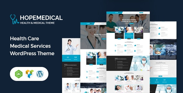 Hope Medical - Health Care WordPress Theme - Health & Beauty Retail