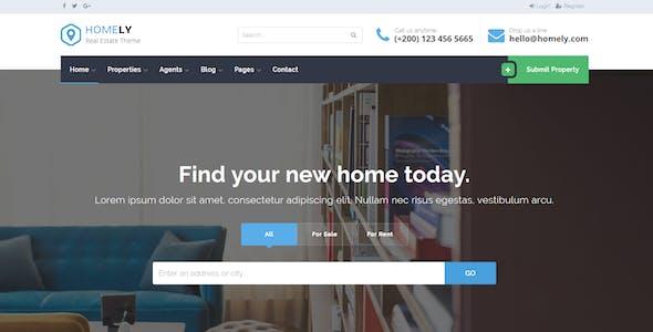 Homely - Real Estate WordPress Theme