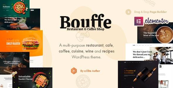 Bouffe - Restaurant & Coffee Shop Theme - Restaurants & Cafes Entertainment