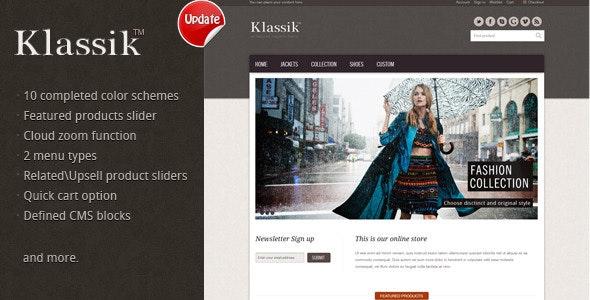 Klassik - Magento eCommerce