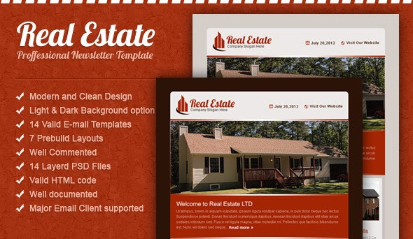 Real Estate Email Template - Email Templates Marketing