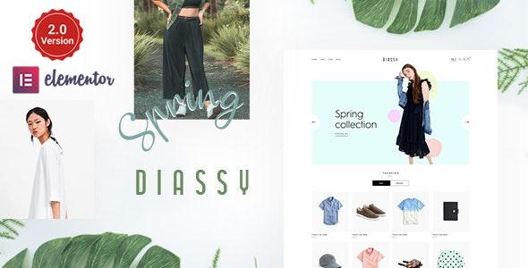 Diassy - Fashion WooCommerce Theme - WooCommerce eCommerce