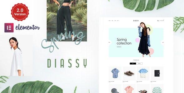 Diassy - Fashion WooCommerce Theme