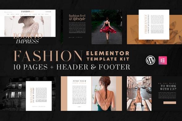 Fashion Art - WooCommerce Elementor Template Kit - Fashion & Beauty Elementor