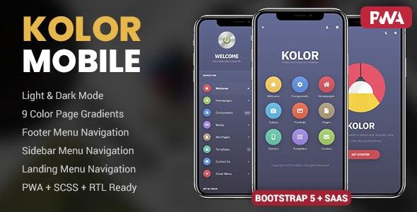 Kolor Mobile - Mobile Site Templates