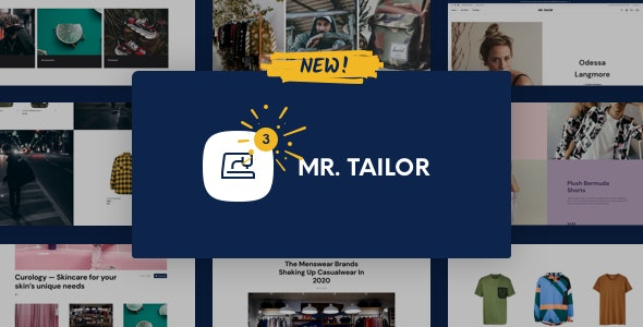 Mr. Tailor - eCommerce WordPress Theme for WooCommerce - WooCommerce eCommerce