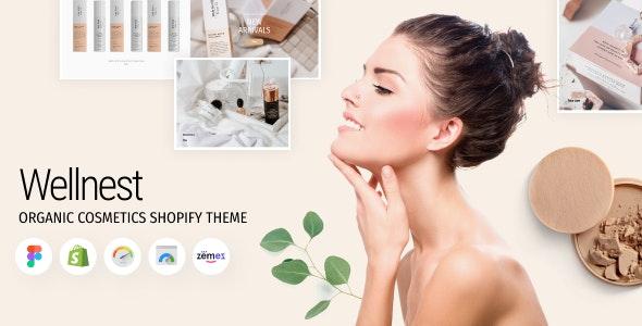 Wellnest - Organic Cosmetics Shopify Theme - Health & Beauty Shopify