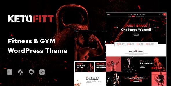 KetoFitt - Fitness & GYM WordPress Theme - Health & Beauty Retail