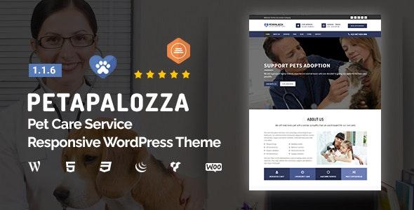 Petapalozza - Pet Care Service WordPress Theme - Health & Beauty Retail