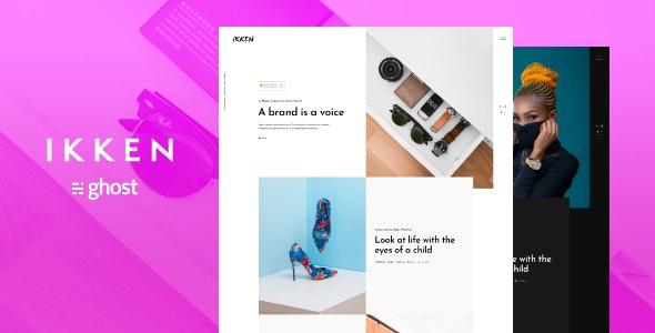 Ikken - Fashion Ghost Blog Theme - Ghost Themes Blogging
