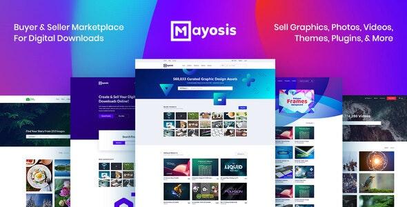 Mayosis - Digital Marketplace WordPress Theme - eCommerce WordPress