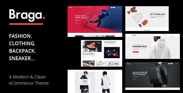 Braga - Multipurpose Responsive Prestashop Theme - Fashion PrestaShop