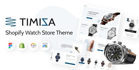 Timiza - Shopify Watch Store Theme - Fashion Shopify