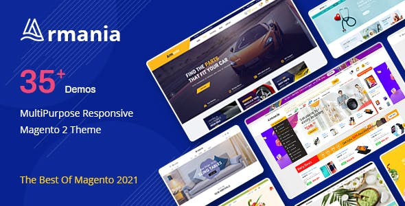Armania - MultiPurpose Responsive Magento 2 Theme