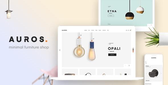 Auros - Furniture Elementor WooCommerce Theme - WooCommerce eCommerce