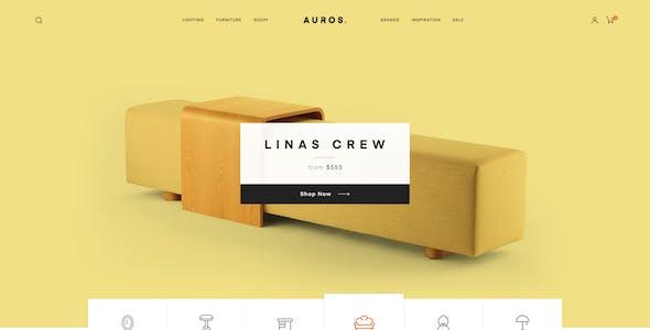 Auros - Furniture Elementor WooCommerce Theme