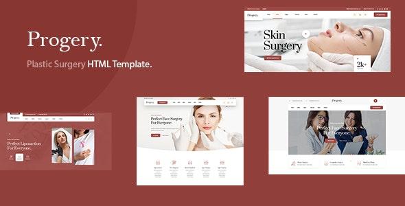 Progery - Plastic Surgery HTML Template - Health & Beauty Retail