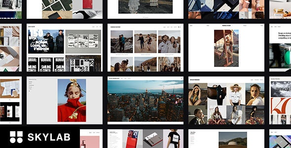 Skylab - Responsive Creative Portfolio WordPress Theme - Photography Creative
