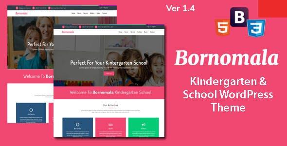 Bornomala - Kindergarten & School WordPress Theme