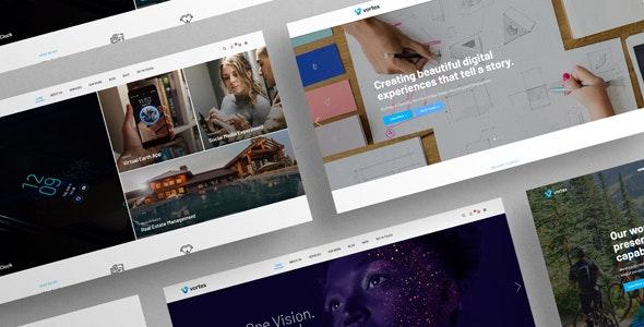 Vorzex - Creative Agency HTML5 Responsive Template - Creative Site Templates
