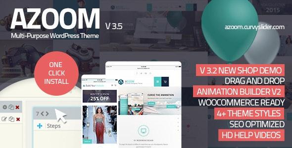 Azoom | Multi-Purpose Theme with Animation Builder - Corporate WordPress