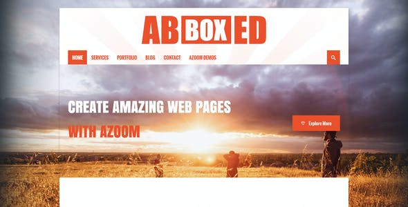 Azoom | Multi-Purpose Theme with Animation Builder