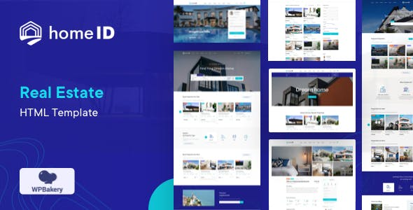 HomeID – Real Estate HTML Template