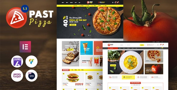 Past - Pizza and Fast Food  WooCommerce Theme - WooCommerce eCommerce