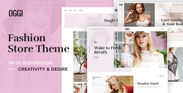 OGGI - Fashion Store WooCommerce Theme - Fashion Retail