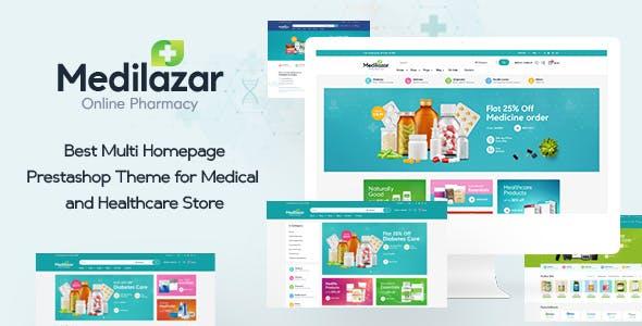 Leo Medilazar Medical and Healthcare Prestashop Theme