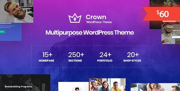 Crown - Multi Purpose WordPress Theme - Business Corporate