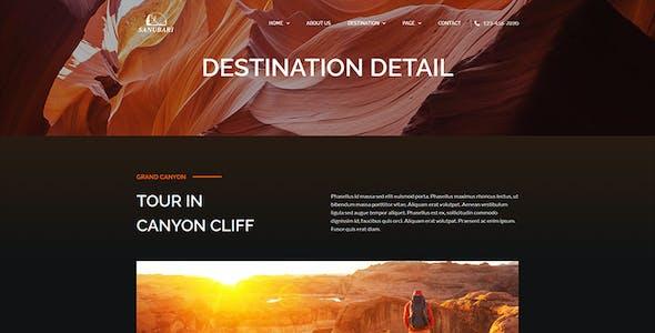 Sanubari - Travel & Tour Agency Elementor Template Kit