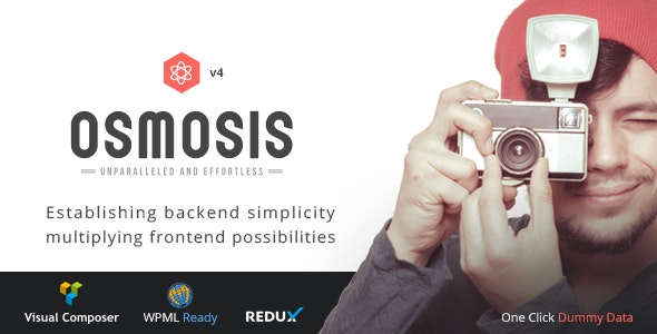 Osmosis - Responsive Multi-Purpose WordPress Theme - Corporate WordPress